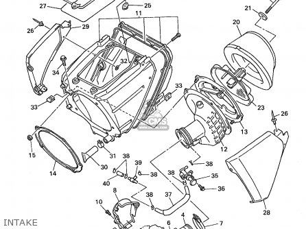 Yamaha Wr400f 1998 (w) Usa England parts list partsmanual
