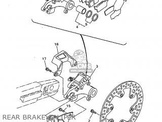 Yamaha Wr400f 1999 5gs2 England 295gs-100e2c parts list
