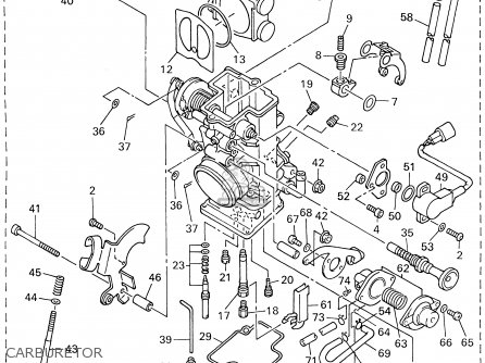 Yamaha WR400F 1999 (X) USA parts lists and schematics