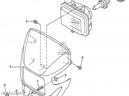 Yamaha WR400F 1999 (X) USA parts lists and schematics