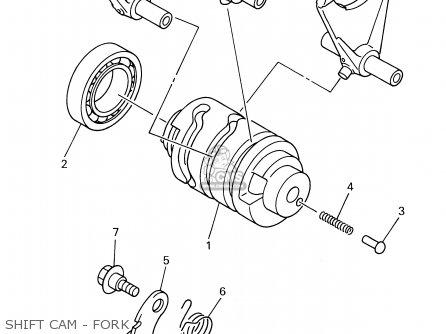 Yamaha Wr400f 1999 (x) Usa parts list partsmanual partsfiche