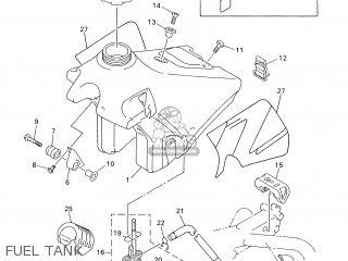 Yamaha WR400F 2000 5GS6 IRELAND 105GS-100E1 parts lists