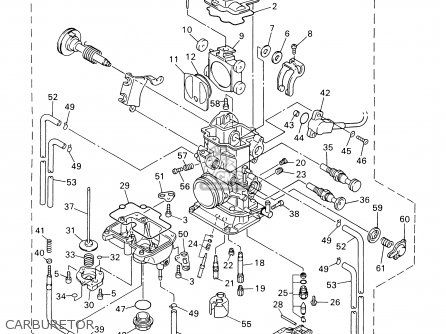 Yamaha WR400F 2000 (Y) USA parts lists and schematics