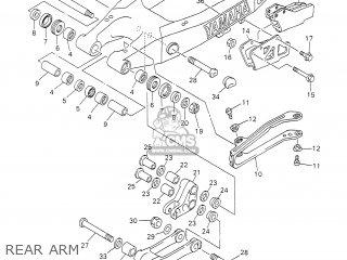 Yamaha WR400F 2002 5GSA GERMANY 1A5NG-100E2 parts lists