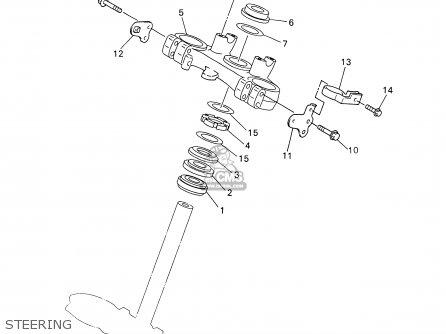 Yamaha WR426F 2002 (2) USA parts lists and schematics