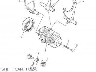 Yamaha WR450F 2003 5TJ2 FRANCE 1B5TJ-100E1 parts lists and
