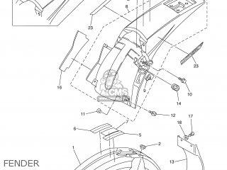 Yamaha WR450F 2006 5TJC EUROPE 1E5TJ-100E1 parts lists and