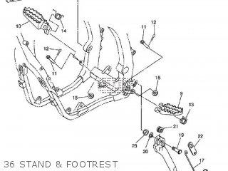 Yamaha WR450F 2009 5TJR EUROPE 1H5TJ-100E1 parts lists and