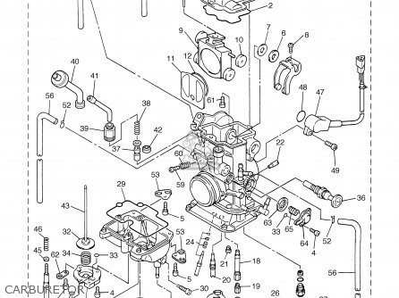 Yamaha Grizzly 450 Carburetor Diagram Yamaha Carburetor