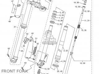 Yamaha WR450FT 2005 5TJA AUSTRALIA 1D5TJ-100E1 parts lists