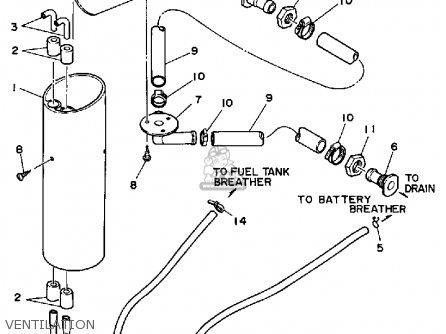 Yamaha Wr500d 1990 Waverunner parts list partsmanual