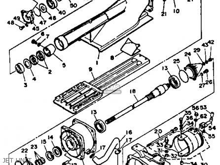 Yamaha WR500H 1987 1988 EU0 WAVERUNNER parts lists and