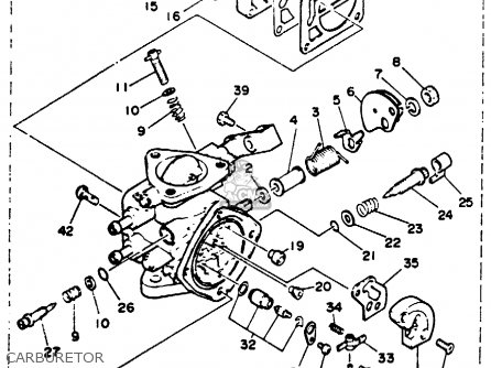 Yamaha WR500Q 1992 WAVERUNNER parts lists and schematics