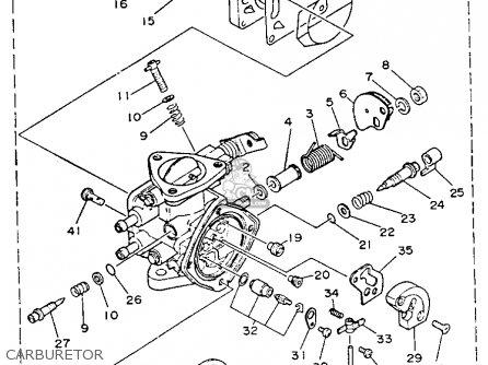 Yamaha WR500R 1993 WAVERUNNER parts lists and schematics