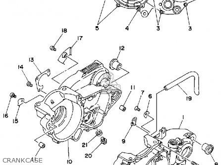 Yamaha Wr500z 1993 (p) Usa parts list partsmanual partsfiche
