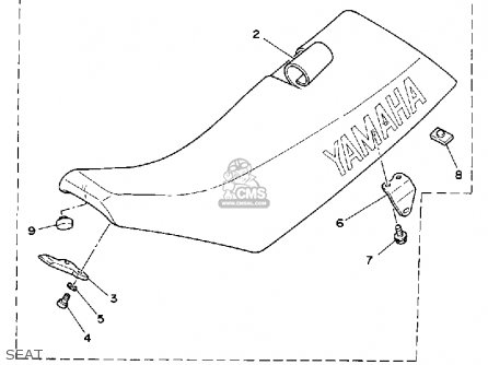 Yamaha WR500Z 1993 (P) USA parts lists and schematics