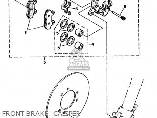 Yamaha Wr500zd 1992 4aa1 North America 224aa-100e1 parts