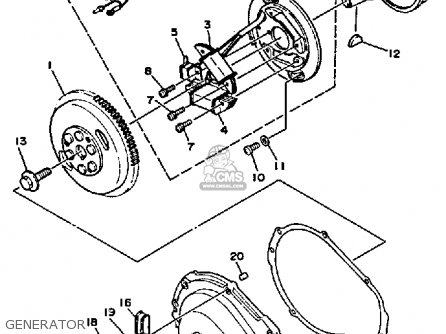 Yamaha Wr650d 1990 Waverunner parts list partsmanual
