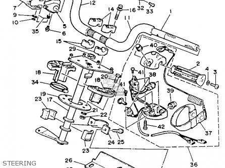 Yamaha WR650Q 1992 WAVERUNNER parts lists and schematics