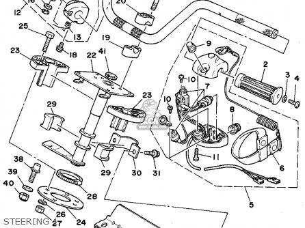 Yamaha WRA650D 1990 FJ0 WAVERUNNER III parts lists and