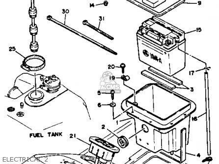 Yamaha Wra650r 1993 Waverunner parts list partsmanual