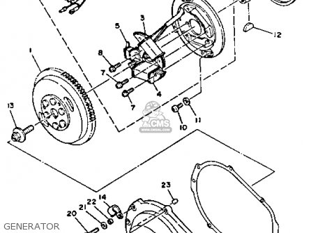Yamaha WRA650R 1993 WAVERUNNER parts lists and schematics
