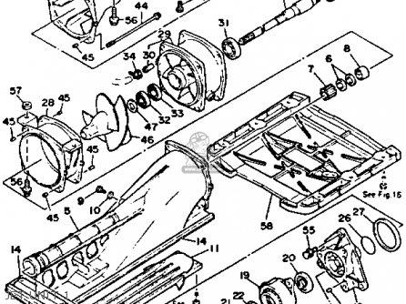 Yamaha Wra650ra 1993 (e) Jetski Taiwan parts list