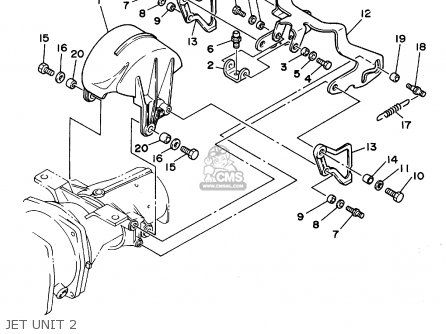 Yamaha WRA700S 1994 TAIWAN parts lists and schematics