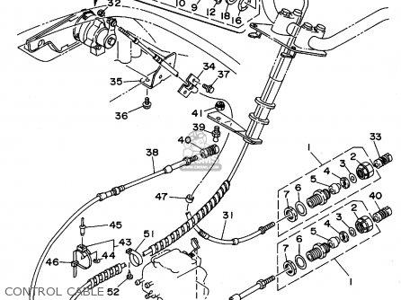 Yamaha Wra700t 1995 parts list partsmanual partsfiche