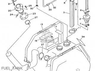 Yamaha WVT1100V 1997 parts lists and schematics