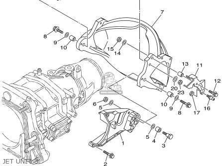Yamaha XA1200X 1999 parts lists and schematics