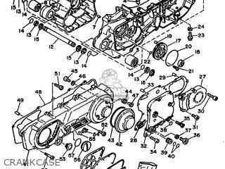 Yamaha Xc 1993 3te3 Germany 233te-332g2 parts list