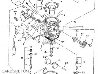Yamaha XC125 1996 4TH6 SPAIN 264TH-354S1 parts lists and