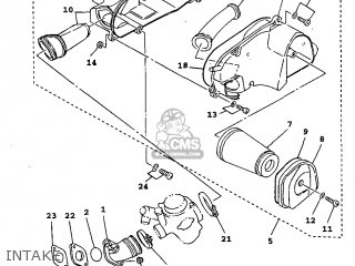 Yamaha Xc125 1999 4thh Germany 294th-300s1 parts list