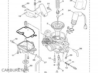 Yamaha XC125 2004 5ML1 BELGIUM 1C5ML-300G1 parts lists and