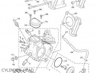 Yamaha Xc125 2005 5ml3 Turkey 1d5ml-300e1 parts list