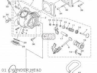 Yamaha XC125E 2011 4P78 EUROPE 1K4P7-300E1 parts lists and