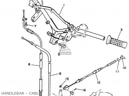 Yamaha XC125K 1998 GERMANY parts lists and schematics