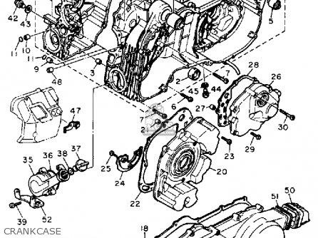 Yamaha Xc180zl Riva 1984/1985 parts list partsmanual
