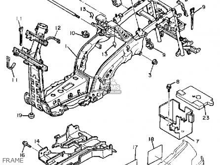 Yamaha XC200W 1988 1989 RIVA CALIFORNIA parts lists and