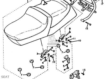 Yamaha Xc200za/b 1990/1991 parts list partsmanual partsfiche