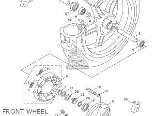 Yamaha XF50 2007 15P3 ENGLAND 1F15P-300E1 parts lists and