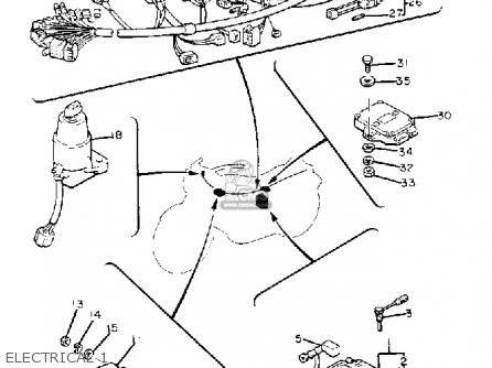 Xs650 Motor Diagram, Xs650, Free Engine Image For User