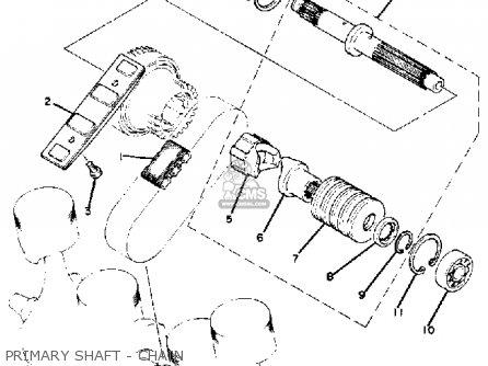 Yamaha XJ1100 MAXIM 1982 (C) USA parts lists and schematics