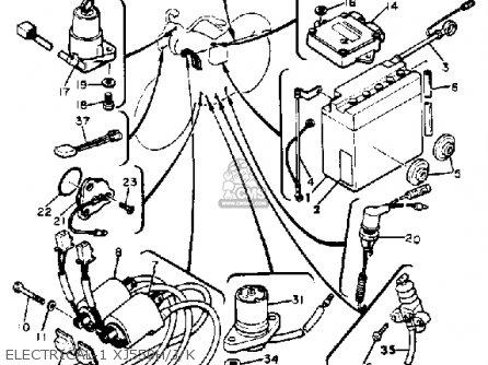 Wiring Diagram Yamaha Xj550 : Wiring Diagram For Hyundai