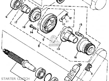 1981 Yamaha Tach Wiring Diagram. 1981. Wiring Diagram
