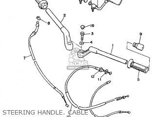 Yamaha XJ600 1986 51J EUROPE 2651J-300E2 parts lists and