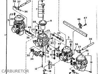 Yamaha Xj600 1991 3km5 Europe 213km-300e2 parts list