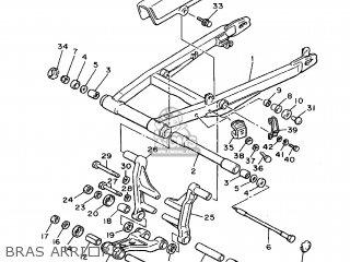 Yamaha XJ600 1991 3KM5 FRANCE 213KM-351F2 parts lists and