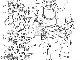 Yamaha XJ600N 1996 4KE5 FINLAND 264KE-300E3 parts lists
